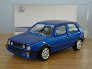 NOREV JETCAR VOLKSWAGEN VW GOLF GTI MK2 G60 BLUE 1990 CAR MODEL 840064 1:43