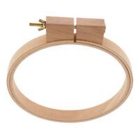 Cerchio da ricamo in legno di faggio naturale Cerchio per ricamo a punto croce