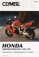 1993-1999 Honda CBR900RR/Fireblade Clymer Repair Service Workshop Manual M4342