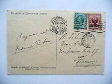 Autografo Cartolina Ferdinando Paolieri Quercianella Maremma 1924 Letteratura
