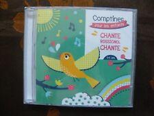 CD COMPTINES POUR LES ENFANTS - Chante Rossignol Chante / C. Prod (2018)  NEUF