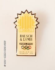 BAUSCH AND LOMB OLYMPIC PIN 1996