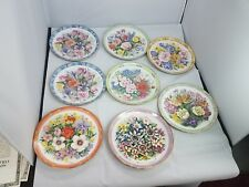 Danbury Mint Eight Bouquets Of The World Collectors Plates by Doug Hague Number