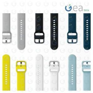 SAMSUNG Cinturino Sport Band in Silicone da 20mm ET-SFR50M Per Galaxy Watch