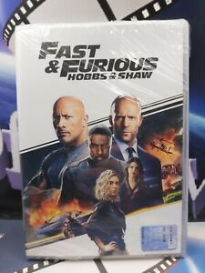 Fast & Furious - Hobbs & Shaw DVD EDITORIALE
