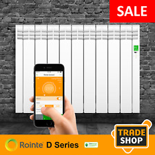 Rointe D Series DIW0990RAD - Delta 990w Oil-Filled Electric Radiator & Wifi