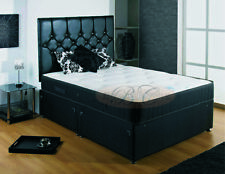 Backcare Divan Bed with Spring Memory Mattress Available in All Sizes