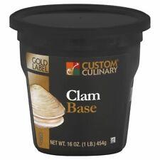 Custom Culinary Gold Label Clam Base, 1 Pound - 6 per case.