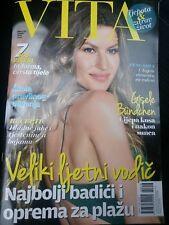"GISELE BUNDCHEN cover, magazine ""VITA"" 6/2018 Croatia"