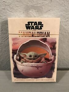 Star Wars The Mandalorian Playing Cards Baby Yoda Disney NEW, SEALED