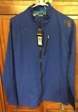 Under Armour UA Combine Performance Storm Shell Jacket Coat Blue Men's S $100