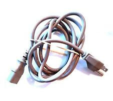 New listing Handy Replacement 5' feet Power Cord Gray