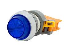 PLN-22A ATI Blue LED Pilot Indicator Light 22mm 220V AC Replaceable Lamp