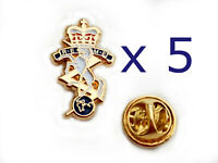 REME Lapel Pin Badges x 5 Royal Electrical Mechanical Engineers