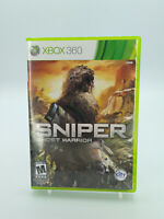 Sniper Ghost Warrior Xbox 360 Game W/Manual Tested Free Shipping