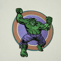 Official Marvel Comics Classic Incredible Hulk Iron-On Cloth Jacket Patch New