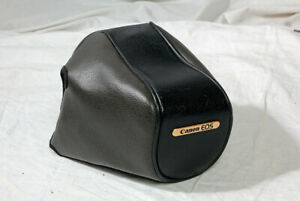 Canon EOS Japan EH7 LL SLR Camera Case Black Vintage VGC!