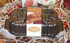 CRATE & BARREL NORDIC PUMPKIN LOAF PAN -NWT- CREATE AN ELEGANT SLICE OF FALL YUM