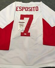 PHIL ESPOSITO AUTOGRAPHED SIGNED CANADA JERSEY JSA  COA