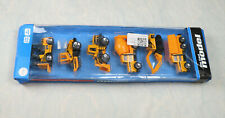 Die Cast Model Toy Vehicle Scale 1:64 Truck Bulldozer Forklift Crawler Compactor