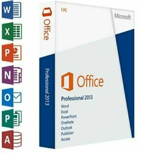 Microsoft Office professional Plus 2013 Download Link For Windows (1PC/1User)