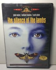 """JODIE FOSTER / ANTHONY HOPKINS """"Silence of the Lambs"""" DVD / VG / $1.65"""