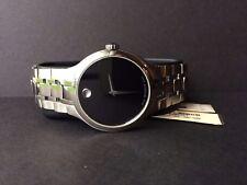 Movado Serio Stainless Steel 38mm Quartz Men's Watch 0606382 $995