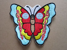 Butterfly Challenge Girl Guides Cloth Patch Badge (L2K)