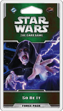 Star Wars The Card Game So Be It Force Pack New (Sealed)