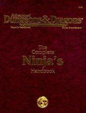 The Complete Ninja's Handbook Advanced Dungeons & Dragons Player's Handbook: Ru