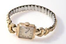 #030 Estate Vintage 14K Yellow Gold Antique Hamilton Ladies Watch Not Scrap