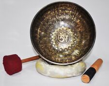 HEALING HANDMADE SINGING BOWL FROM NEPAL TIBET FOR MEDITATION 22 CM