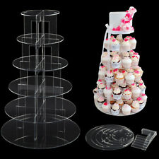 Acrylic Wedding Cup Cake Stand To Hire Uk