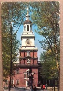 Vintage Philadelphia The Quaker City Independence Hall - Postcard