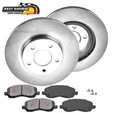 POWERSPORT DRILL//SLOT /& PADS Mitsubishi OUTLANDER 05-06 FRONT Brake Rotors
