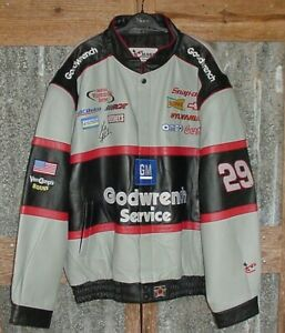 Chase Authentics 3XL Goodwrench LEATHER JACKET 29 Kevin Harvick Excellent !!