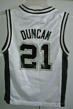 San Antonio Spurs Tim Duncan #21 Road Jersey Reebok Size Boys Small/Nice