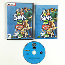 Game The Sims 2 : Animals and & Compagnie Cie / Disk Additional On PC