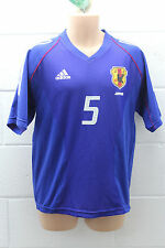 VINTAGE ADIDAS JAPAN NIPON FOOTBALL SHIRT JERSEY TRIKOT INAMOTO 2002 WORLD CUP M