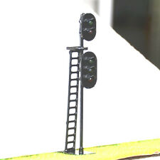 1 pcs HO Scale 1:87 LEDs Made 2 heads Railroad Signals 2 over 3 (G/R + G/Y/R)