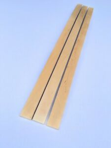 Lot de 3 Lattes pour Sommier de Lit -  82,5x3,5x0,8cm