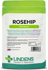Rosehip 2000mg Capsules (100 pack) [Lindens 1363]