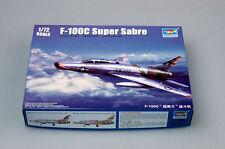 Trumpeter 1/72 01648 F-100C Super Sabre