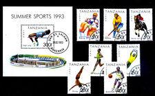 COLLEZIONE TANZANIA  LOTTO 8 FRANCOBOLLI  Stamps  FRANCOBOLLO