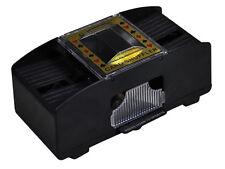 Aidapt 2 Deck Retro Automatic Casino Poker Playing Card Shuffler Sorter #VM706