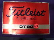 New Harley Titleist Bar & Shield golf balls Harley-Davidson collectibles ss1696