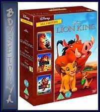 THE LION KING TRILOGY 1 2 & 3 *BRAND NEW DVD BOXSET*