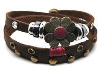 Wickelarmband Leder Armband! Surferarmband Damen Lederarmband Leather Bracelet