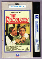 THE PRODUCERS - Mel Brooks - VHS Video Tape CEL Vintage