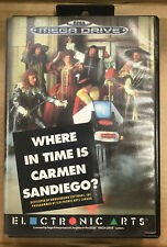 Where in Time Is Carmen Sandiego (Sega Mega Drive, 1989)